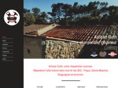 Création du site Internet de GUTH Charpentier Couvreur (Entreprise de Constructeur de maison à LE MUY )
