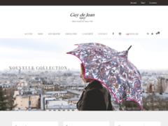 Détails : parapluie luxe Guy de Jean
