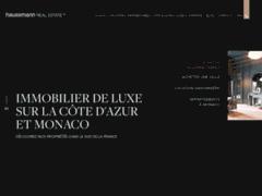 Détails : Haussmann Real Estate: agence immobilière à Nice