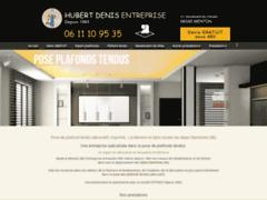 Création du site Internet de Hubert Denis Entreprise (Entreprise de Peintre à MENTON )