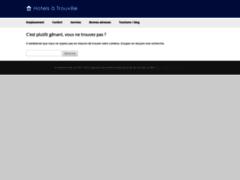 Détails : Hôtel à Trouville proche de la plage