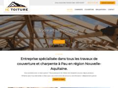 Création du site Internet de IC TOITURE (Entreprise de Couvreur à ASSAT )