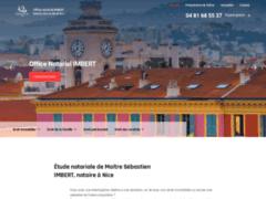 Étude notariale de Maître Sébastien IMBERT, notaire à Nice