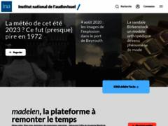 Ina.fr : vidéo, radio, audio et publicité