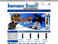 Détails : IndependentStreet : Le skateshop dont vous reviez sur internet