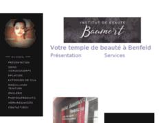 Site Détails : Institut de beauté Baumert à Benfeld (Bas rhin), temple de bien-être