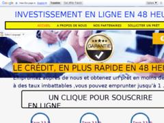 Détails : investissement en ligne en 48 heures