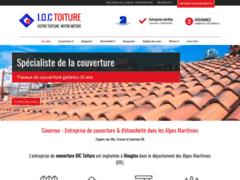 Création du site Internet de IOC toiture (Entreprise de Couvreur à MOUGINS )