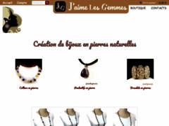 Détails : Bijoux pierres naturelles - J'aime les gemmes