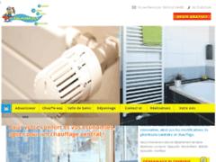 Création du site Internet de Entreprise JANBAT (Entreprise de Plombier à LE HAVRE )