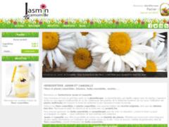 Détails : Jasmin et camomille - Achat et recette de fleurs comestibles