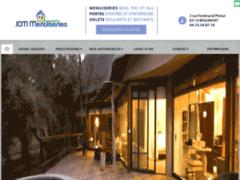 Création du site Internet de Lionel MIOCHE (Entreprise de Menuisier à BEAUMONT )
