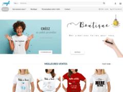 Détails : Boutique en ligne pour les cadeaux personnalisés