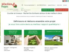 Création du site Internet de SUCÉVI (Entreprise de Courtier en travaux à EGLY )