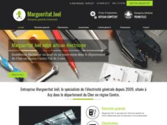 Création du site Internet de Margueritat Joel (Entreprise de Electricien à AZY )