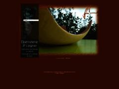 Création du site Internet de Ebénisterie J-pierre LAIGNIER (Entreprise de Artisan d'art à GAP )
