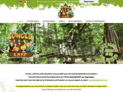 Création du site Internet de Parc Jungle Laye (Entreprise de Parcs d'attractions et de loisirs à LAYE STATION )
