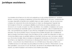 Détails : Juridique-assistance.fr, votre portail juridique