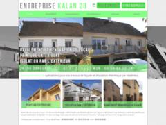Création du site Internet de Entreprise KALAN 28 (Entreprise de Peintre à DANGERS )