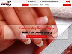 Détails : Institut de beauté Lyon Karisa Ongles Esthéticienne