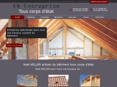 Création du site Internet de Noël KELLER (Entreprise de Constructeur de maison à SAINT SULPICE )