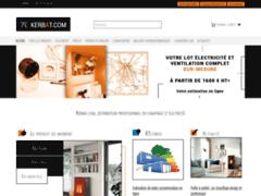 Kerbat.com, distributeur en équipement de chauffage et d'électricité