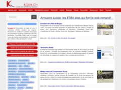 Annuaire internet de Suisse romande
