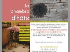 La chambre d'hôte: Gîtes et chambres d'hôtes à LOURMARIN