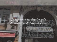 Détails : Vente des vêtements de luxe à Paris