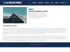 La voix du projet : tout savoir sur les projets de la vie