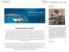 Détails : Comment choisir un abri de voiture