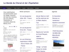Le Monde du Cheval et de l'Equitation