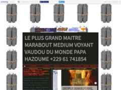 Détails : GRAND MAITRE MARABOUT DU MONDE PAPA HAZOUME