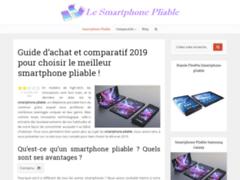 Détails : Ere nouvelle pour la téléphonie le Smartphone pliable