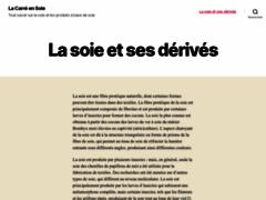 Détails : Le carré ens soie, boutique en ligne de la marque Mona Roussette