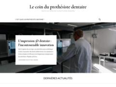"""Site communautaire pour prothésistes dentaire """"Le Coin du Prothésiste"""""""