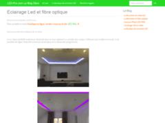 Détails : Ledstrip RGB et Fibre optique led à prix discount