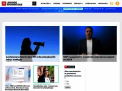 Le Monde Informatique : actualités, dossiers et tendances IT