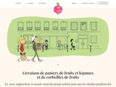 Détails : Le panier du citadin - Livraison corbeille de fruits et panier de fruits et légumes
