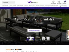 Détails : Salon de jardin design