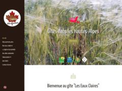 Gites Les Eaux Claires: Gîtes et chambres d'hôtes à SAINT-AUBAN-D'OZE