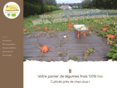 Création du site Internet de Les Jardins d'Insertion de l'Artois (Entreprise de maraîcher à HENIN BEAUMONT )