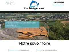 Création du site Internet de Les environneurs (Entreprise de Jardinier à GAP )