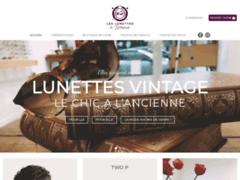 Détails : Magasin de lunettes vintage made in France