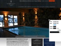 Détails : Hôtel sauna et spa dans les Vosges : Les Reflets du Lac Gérardmer