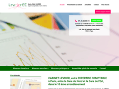Cabinet Levrier, expertise comptable à Paris