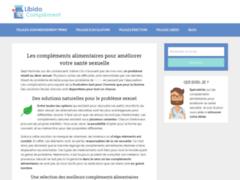 Détails : Libido complément, le guide pour améliorer votre santé sexuelle