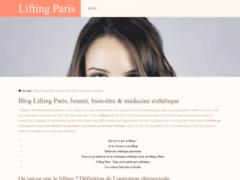 Lifting Paris: le meilleur blog sur les soins du corps