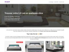 Détails : Comparer et acheter votre lit led au meilleur prix