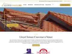 LLOYD TOITURE: Couvreur charpentier à SAINT-PAUL-DE-VENCE
